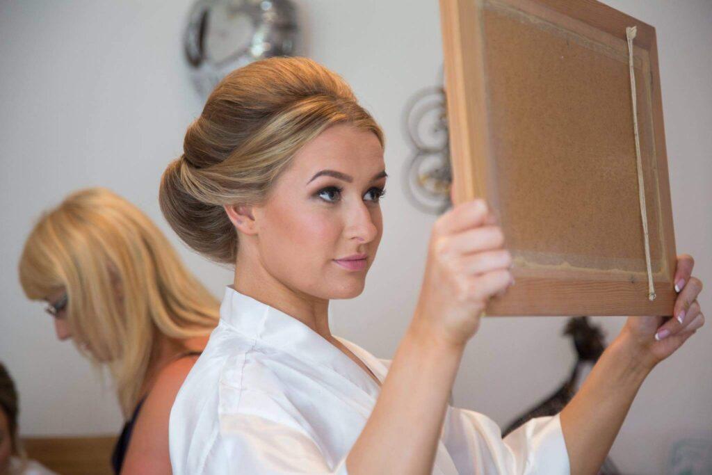 Natural bridal makeup North Yorkshire