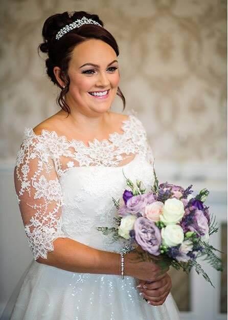 Wedding makeup Hackness Grange Hotel