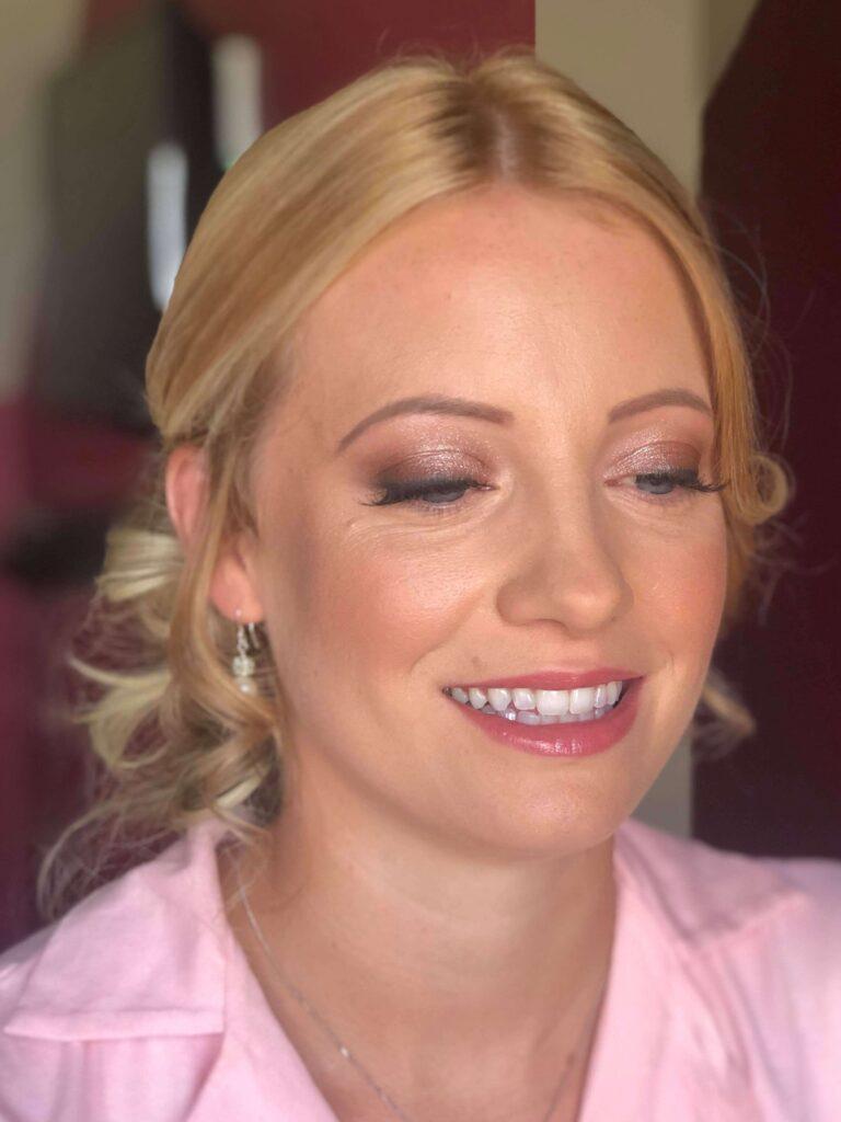 Charlotte Tilbury wedding makeup look