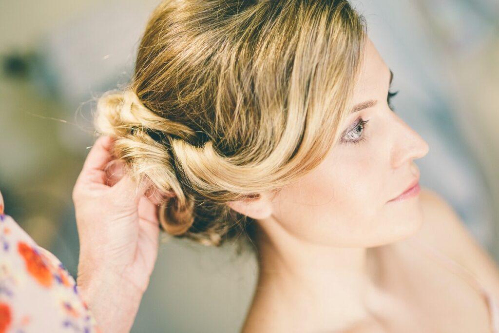 Natural wedding makeup Yorkshire