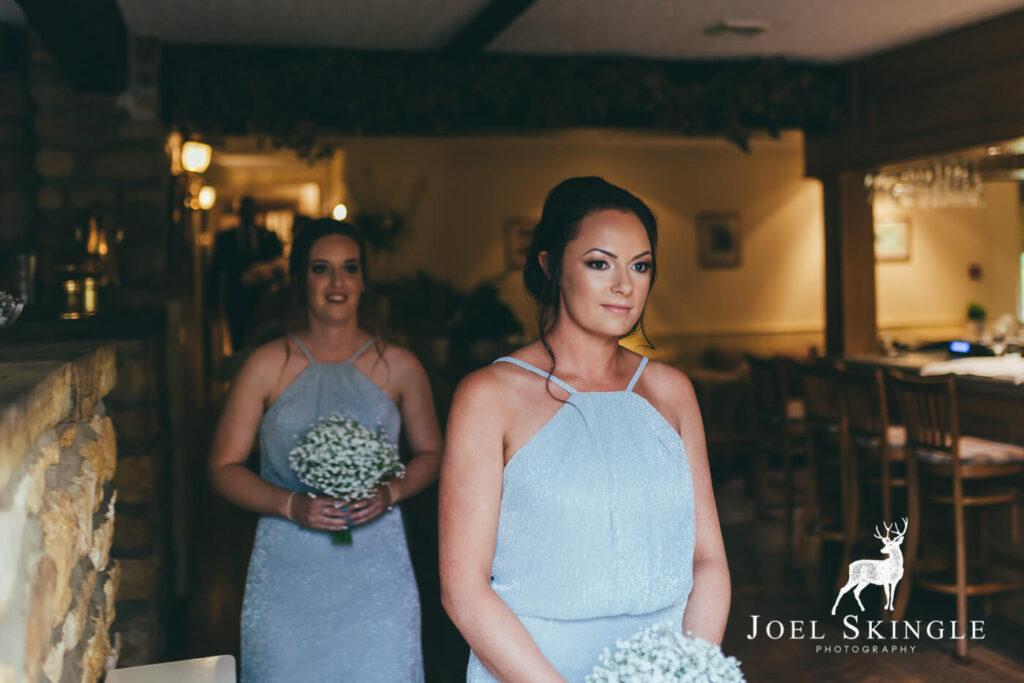 Natural bridesmaid makeup Ox Pasture Hall Hotel